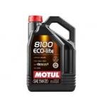 Motul 8100  Eco-Lite 5W20 5L